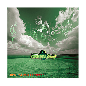Red Hot Chili Peppers live at Green Fest in Serbia - 26th June 2007; CD cover by hcrockso